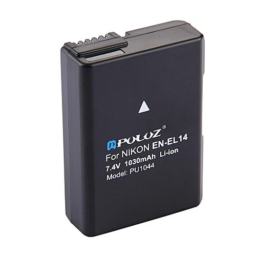 PULUZ EN-EL14 7.4V 1030mAh Decode Li-ion Battery For Nikon D3100 / D5100 / P7000 / P7100 Etc.
