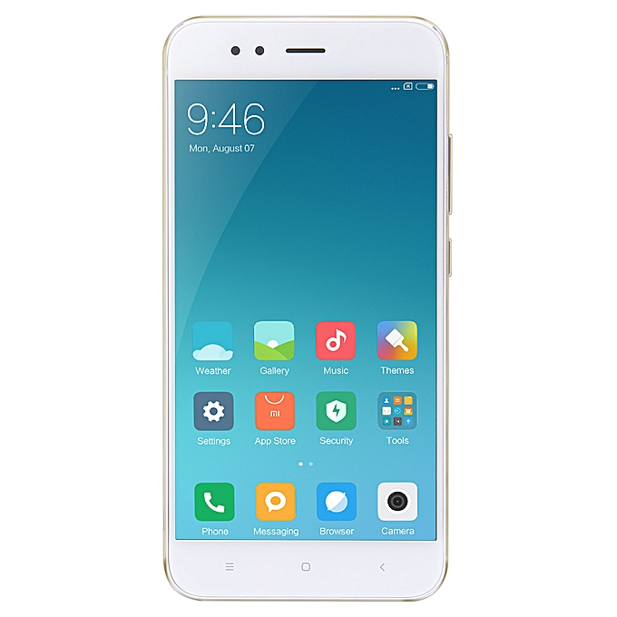 Xiaomi Mi A1 5 5 Inch Android One Snapdragon 625 2 0GHz Octa Core 4GB RAM  64GB ROM- Golden