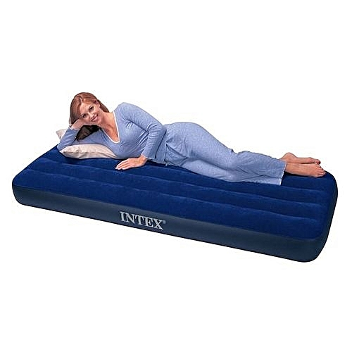 Inflatable Mattress Air Bed With Pump Single User