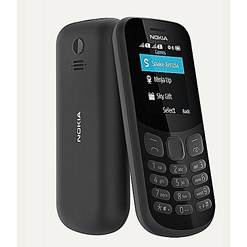 130 FM Radio, Camera, 1020mAh Battery Dual Sim Phone - Black