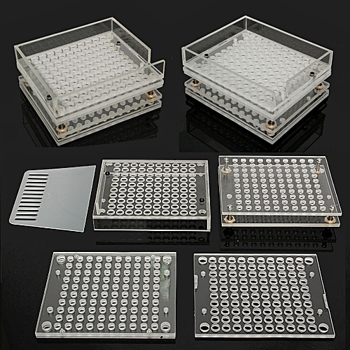 Transparent 100 Holes Capsule Filler Capsule Filling Machine Make Multi-Size