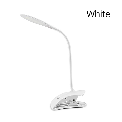 3 Level Brightness Dimmable LED Cabinet Lights USB LED Table Lamp Touch Sensor Control Study Reading Book Light With Clip