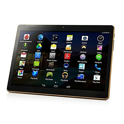 10.1 Inch Tablet PC RAM 4G ROM 64G Dual Card Camera Black