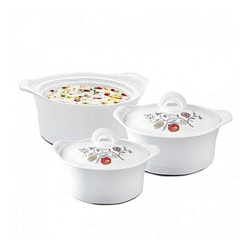 Falcon 3 Pieces Set Insulated Casserole