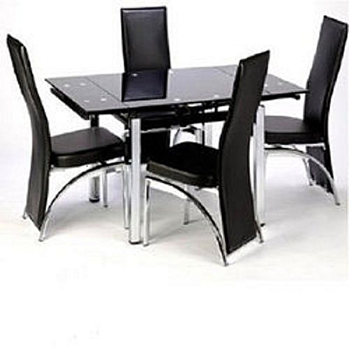 Extending Dining Table With 4 Seater (Lagos Delivery Only)