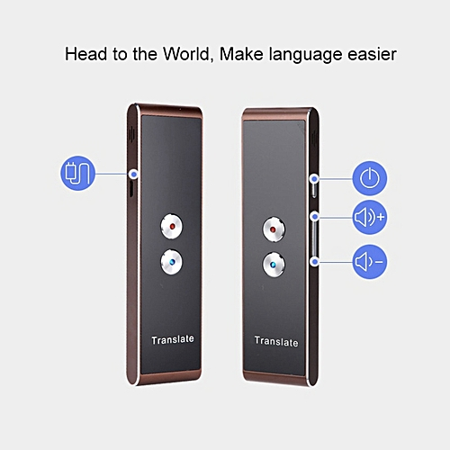 Two-Way Real Time 30 Multi-Language Translation Portable Smart Voice Speech Translator For Learning Travelling Business Meeting WAAAA