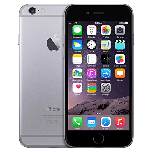 on sale fa78f f39a3 IPhone 6 64GB Smartphone Apple Certified Refurbished - Black