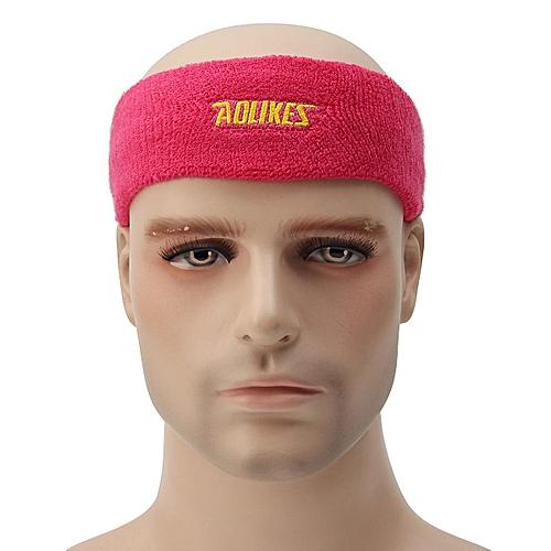 2039201ac64c Generic 1 Pcs Cotton Elastic Sweat Headband Sweat Absorbing Yoga Hair Bands  Running Fitness Gym Tennis Sweatband Sport Headwear