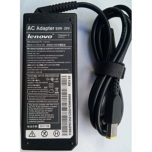 Lenovo AC 65W 20V Laptop Charger