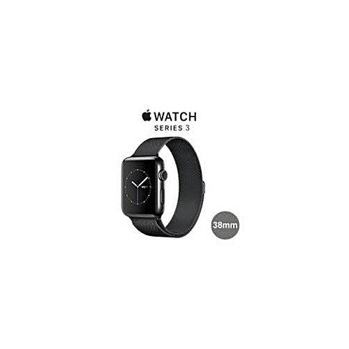 Apple I Watch Series 3 38mm (Space Gray Aluminium Case With Gray Sport Band