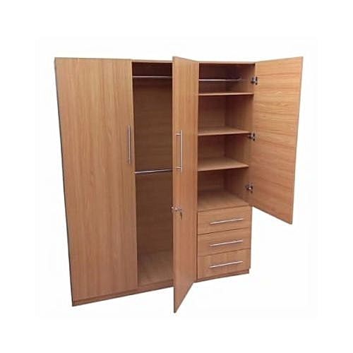 Standard Wardrobe - 3 Door(Delivery Within Lagos Only)