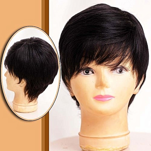 Short Wig Style - Natural Colour