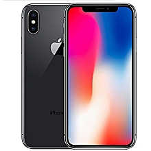 Apple Apple IPhone X (3GB RAM, 256GB ROM) BLACK IOS 11.1.1  (12MP + 12MP) + 7MP