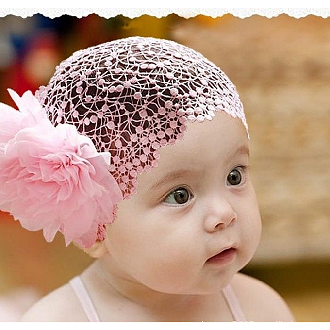 c7b4af8745e ... Flower Toddlers Infant Baby Girl Headband Hair Band Headwear Crochet-As  Show