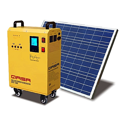 LCD DISPLAY SOLAR OR PHCN POWERED GENERATOR = Solar Panel +Battery+Inverter+Ups