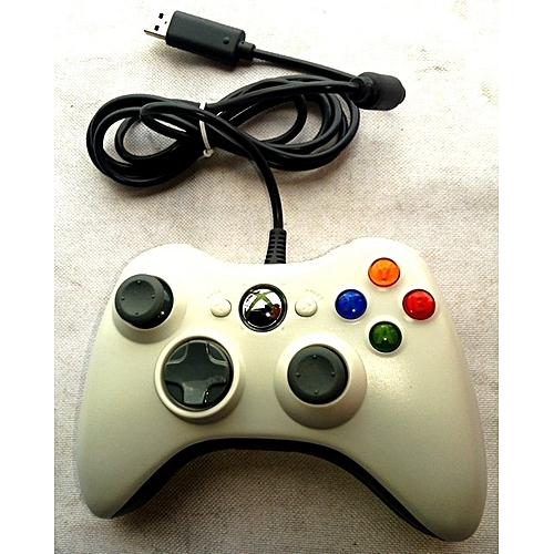 Microsoft Xbox 360 Wired Game Pad - White