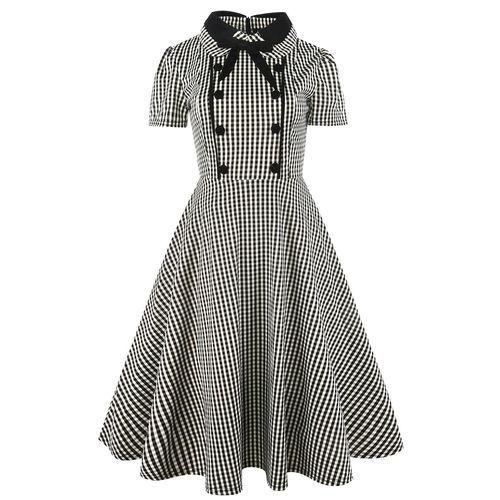 Nigeria Buy Fashion 2017 Plus Size Summer Women Vintage Dress