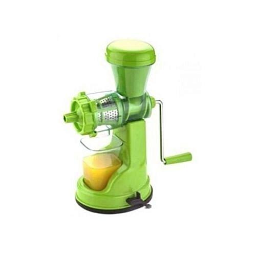 Manual Fruit Juice Extractor Juicer Machine-Multicolor