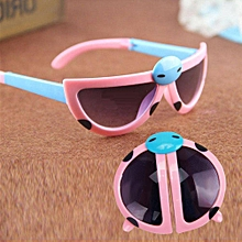 9f4daa768440 Foldable Children Beatles Sunglasses Boy Girl Insect Glasses Summer Kids  Gift