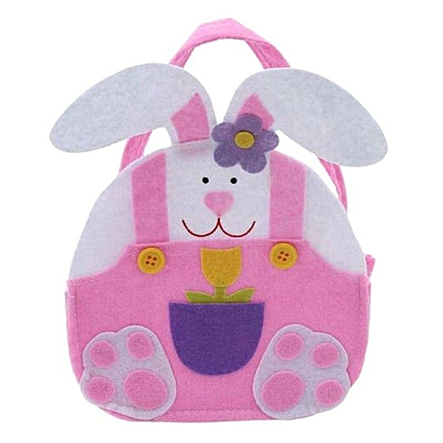 Benhongszy New 1PC Easter Bunny Ear Bags Cute RabbitEars Candy Snack Bag Easter Baskets Kids Gifts Bag DIY Craft Party Birthday Decoration