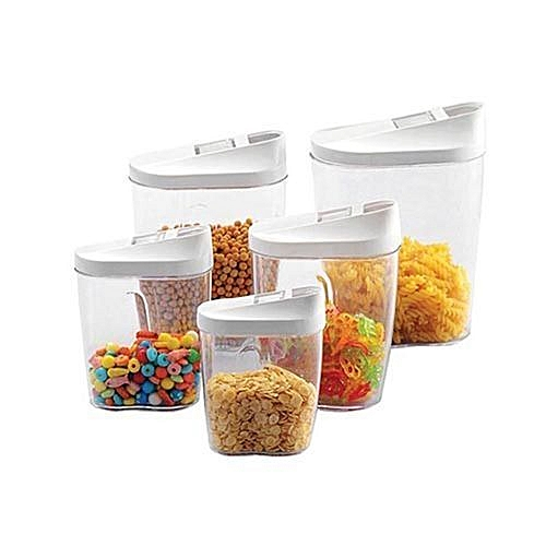 Plastic Cereal Container Set - 10piece