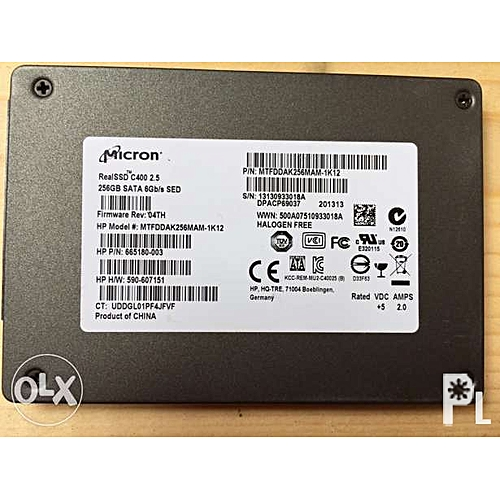 256gb Ssd Laptop Harddrive