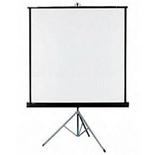"""Projection Screen 96"""" X 96"""" With Tripod Stand- White"""