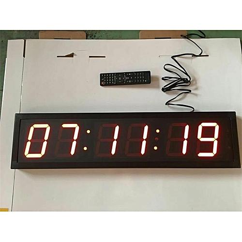 6 DIGITS LED Digital Clock/Countdown/Up Timer