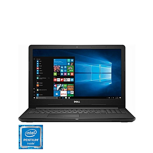 "Inspiron 15.6"" Laptop - Intel® Pentium® Silver Quad Core N5000 Processor - 4GB Memory - 500GB Hard Drive - Windows 10 - Black"
