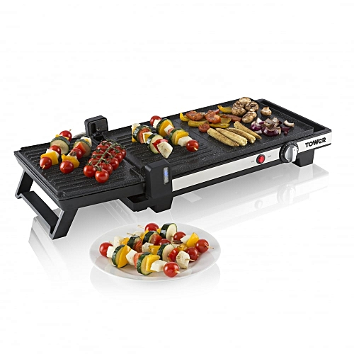 3-in-1 Grill, Griddle And Panini Press