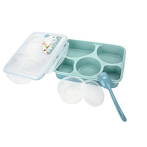 Bento Lunch Box Leakproof Microwave BPA Free Lunch Box Green