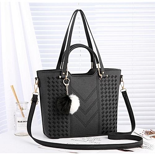 Women Bag Lady Cheap Women Causal Totes Handbag - Black