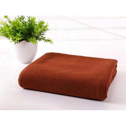70x140cm Microfiber Absorbent Drying Bath Beach Towels Washcloth Swimwear Shower(Coffee)