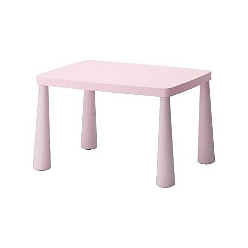 Ikea Mammut Children Table For Indoor Outdoor Pink