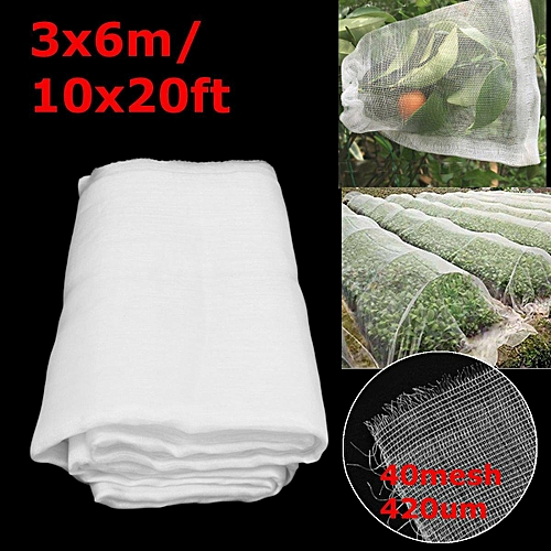 20Ft X 10Ft Mosquito Garden Bug Insect Netting Insect Barrier Bird Hunting Net