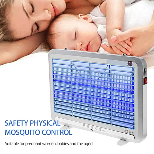 4W LED Mosquito Fly Insect Killer Zapper Lamp Industrial Indoor Pest Control Bug
