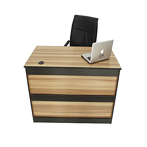 Stylish Wooden 4Feet Office Table With A Visitor Chair ( LAGOS ORDER Only)