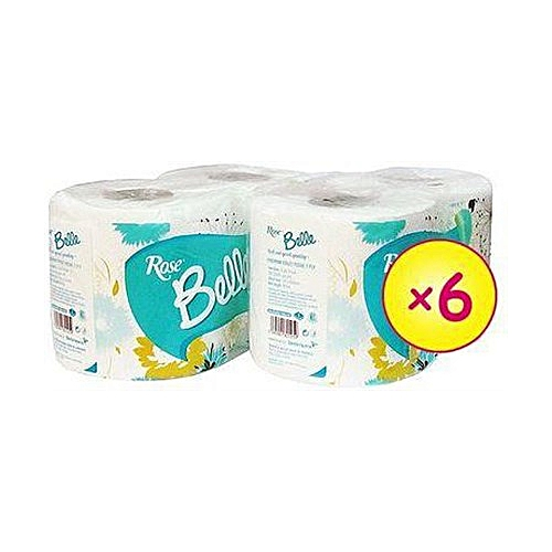 Belle Toilet Paper - A Pack Of 6