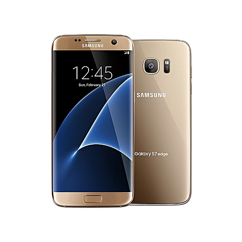 "Samsung Galaxy S7 Edge 5.5"" (4GB, 32GB ROM) 12MP + 5MP - Gold Platinum"