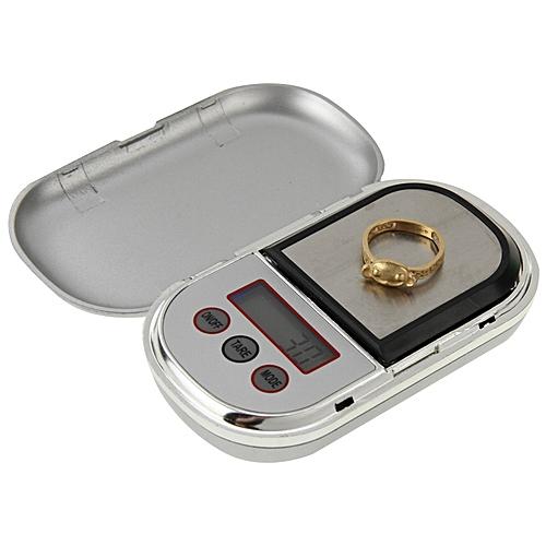 KL-888 Mini Digital Pocket Scale(500g/0.1g)(Silver)