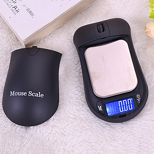 200g/0.01g LCD Display Jewelry Digital Pocket Scale Mouse Sh
