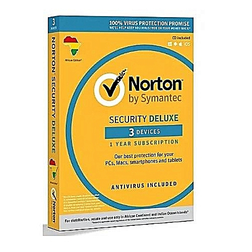 Norton Internet Security Deluxe With Antivirus - 3 Users