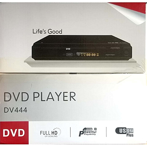 LG DVD Player DV444 Full HD