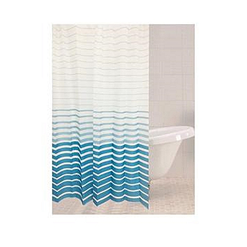 Azul Stripe Shower Curtain - 179258
