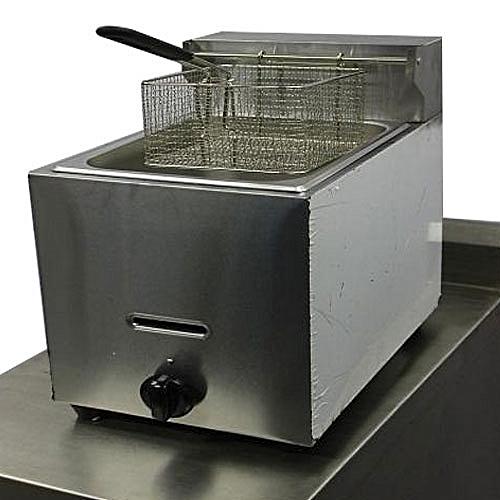 Industrial Gas Table Deep Fryer