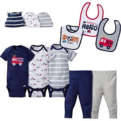 9d6676ffaa Baby Boy Perfect Baby Shower Gift Layette Set, 11-Piece