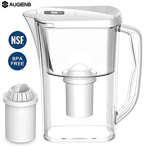 AUGIENB 3.2L 4 Stage Filtration System Water Filter Purifier Remove Chlorine