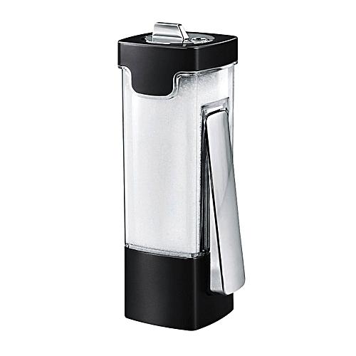 Multi-purpose Spice Cruet Seasoning Salt Sugar Container Spice Dispenser - Black