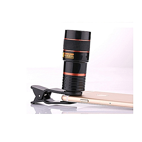 Phone Mobile Telescope Telephoto Lens