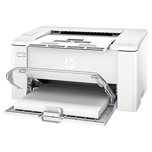 Laserjet Pro M102a Black & White Printer: Replacement For Laserjet P1102 Printer White Colour